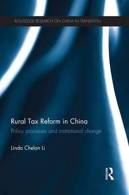 Rural Tax Reform in China