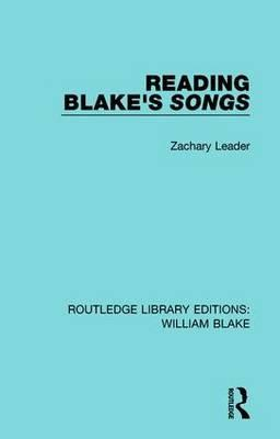 Reading Blake's Songs