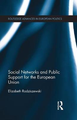 Social Networks and Public Support for the European Union