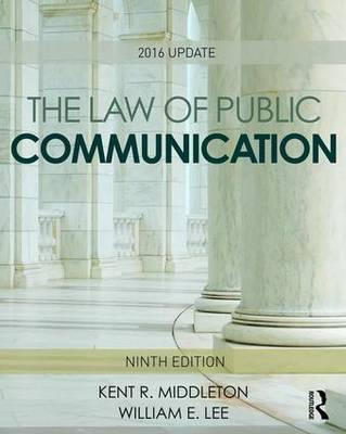 The Law of Public Communication 2016