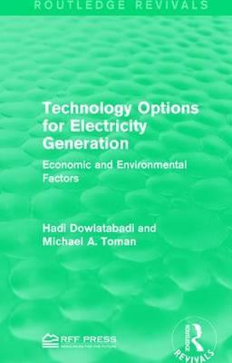 Technology Options for Electricity Generation