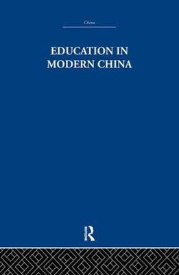 Education in Modern China