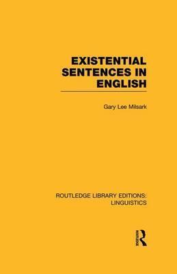 Existential Sentences in English