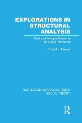Explorations in Structural Analysis