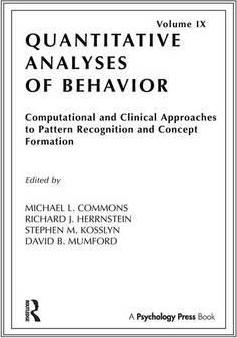 Computational and Clinical Approaches to Pattern Recognition and Concept Formation
