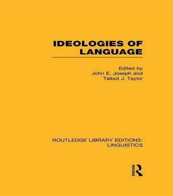 Ideologies of Language