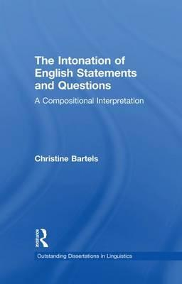 The Intonation of English Statements and Questions