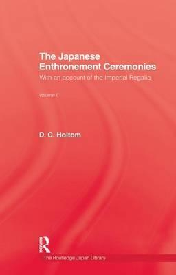 Japanese Enthronement Ceremonies
