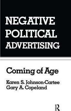 Negative Political Advertising
