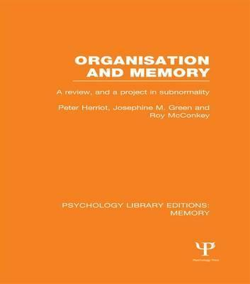 Organisation and Memory