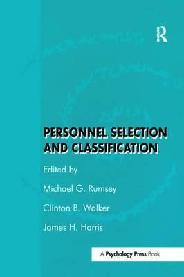 Personnel Selection and Classification