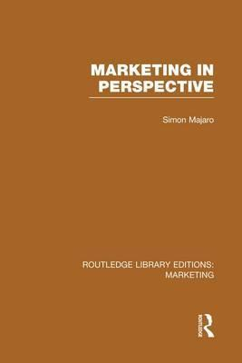 Marketing in Perspective
