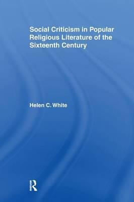 Social Criticism in Popular Religious Literature of the Sixteenth Century