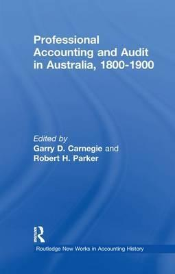 Professional Accounting and Audit in Australia, 1880-1900