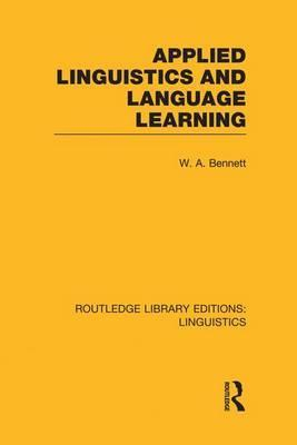 Applied Linguistics and Language Learning