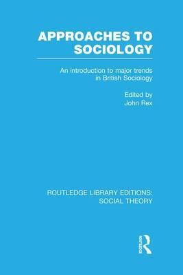 Approaches to Sociology