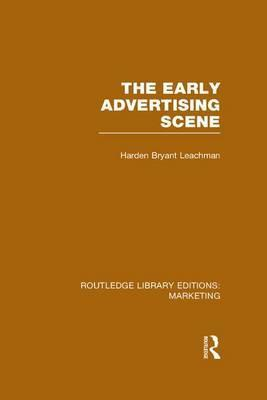The Early Advertising Scene