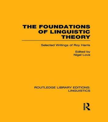 The Foundations of Linguistic Theory