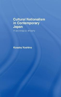 Cultural Nationalism in Contemporary Japan