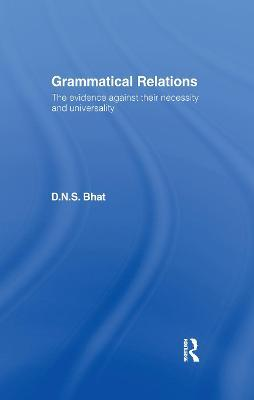 Grammatical Relations