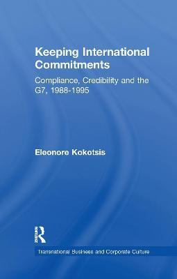 Keeping International Commitments
