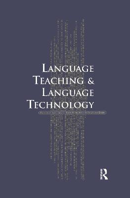 Language Teaching and Language Technology