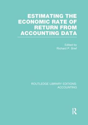 Estimating the Economic Rate of Return from Accounting Data