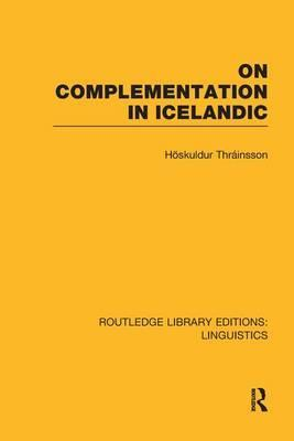 On Complementation in Icelandic