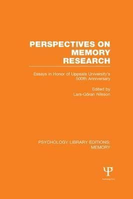 Perspectives on Memory Research