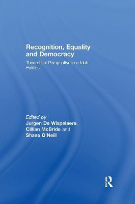 Recognition, Equality and Democracy