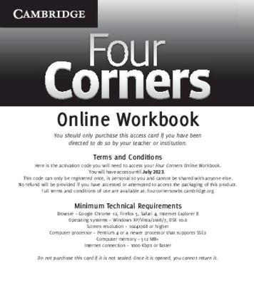 Four Corners Level 1 Online Workbook (Standalone for Students)