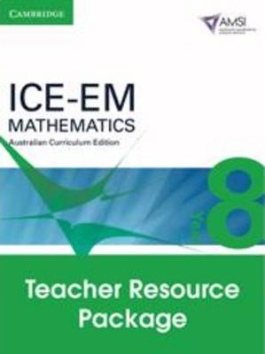ICE-EM Mathematics Australian Curriculum Edition Year 8 Teacher Resource Package