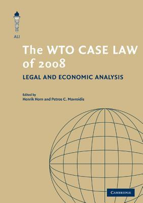 The WTO Case Law of 2008