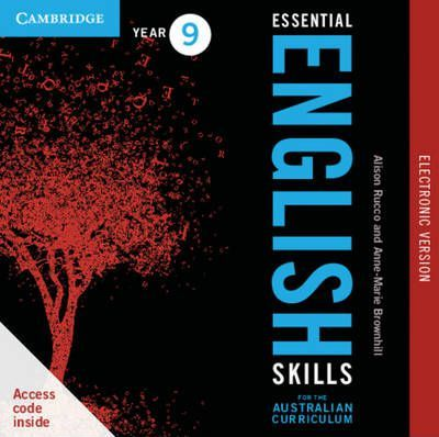 Essential English Skills for the Australian Curriculum Year 9 Electronic Version