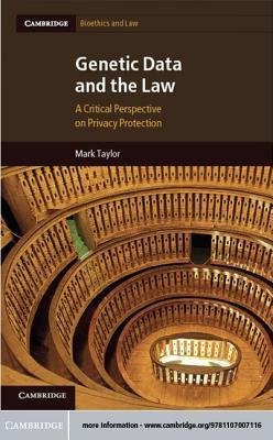 Genetic Data and the Law