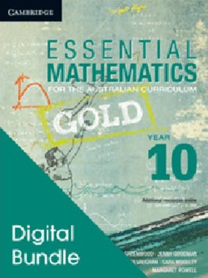 Essential Mathematics Gold for the Australian Curriculum Year 10 Digital and Cambridge HOTmaths