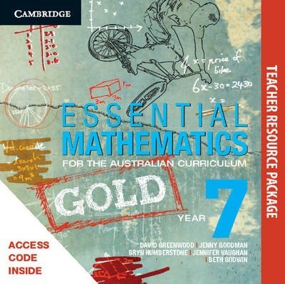 Essential Mathematics Gold for the Australian Curriculum Year 7 Teacher Resource Package