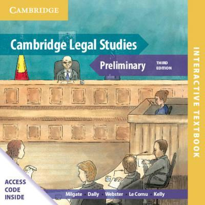 Cambridge Preliminary Legal Studies Interactive Textbook