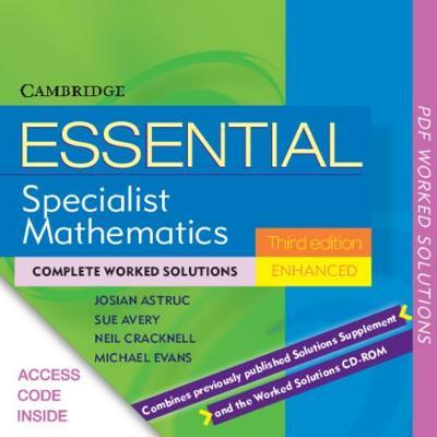 Essential Specialist Mathematics Enhanced TIN-CP Worked Solutions
