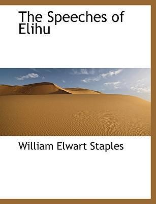 The Speeches of Elihu