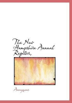 The New Hampshire Annual Register,