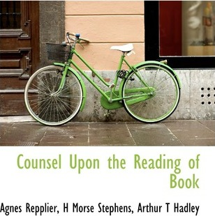 Counsel Upon the Reading of Book