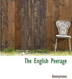 The English Peerage
