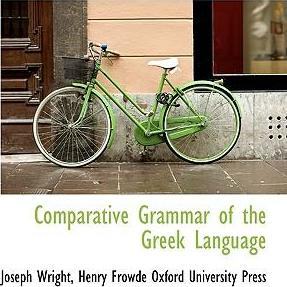 Comparative Grammar of the Greek Language