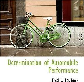 Determination of Automobile Performance
