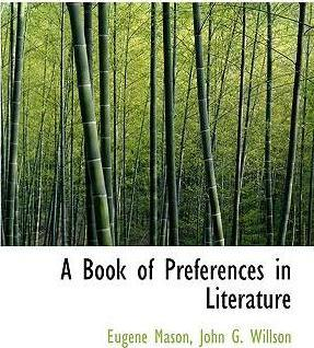 A Book of Preferences in Literature