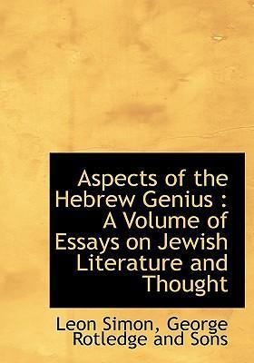 Aspects of the Hebrew Genius