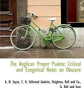 The Anglican Proper Psalms