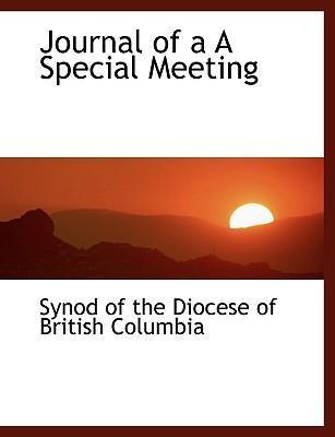Journal of A A Special Meeting