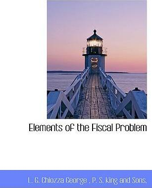 Elements of the Fiscal Problem
